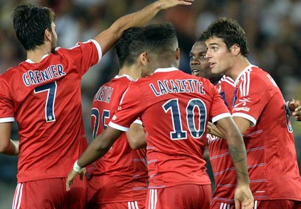 Olympique Lyon surplus empat poin dari Paris Saint-Germain di pekan ketiga ini