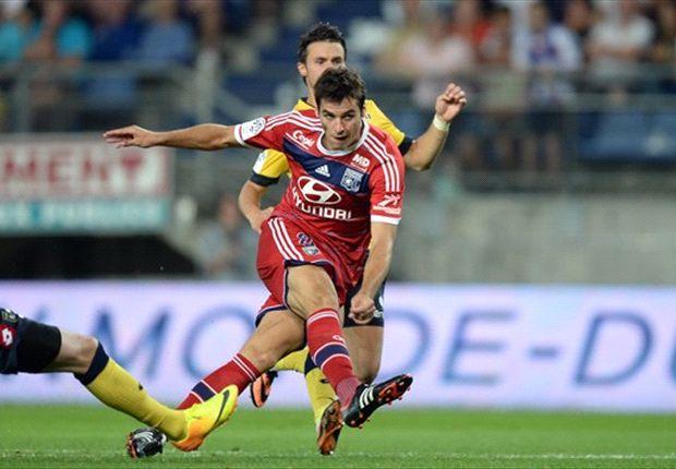 Yoann Gourcuff menyempurnakan kemenangan Lyon atas Sochaux