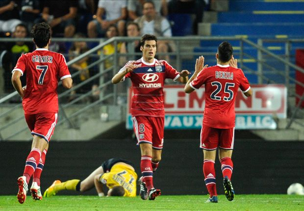 Sochaux 1-3 Lyon: Beguiling Gourcuff leads les Gones to victory
