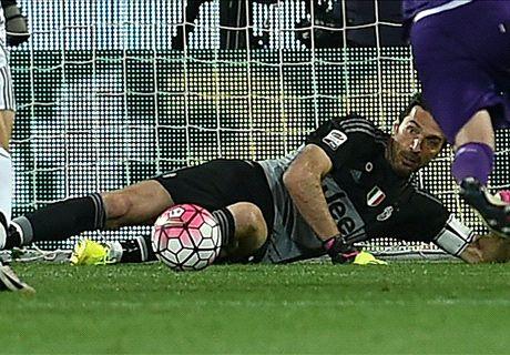 RATINGS: Buffon the hero for Juventus