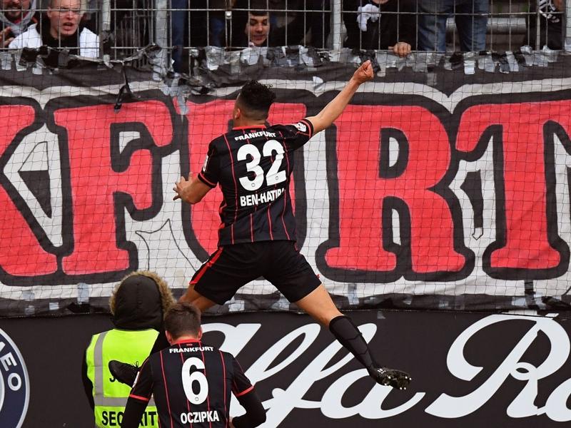 Eintracht Francoforte-Bayern Monaco 2-2: Frenata bavarese, Colonia a -2
