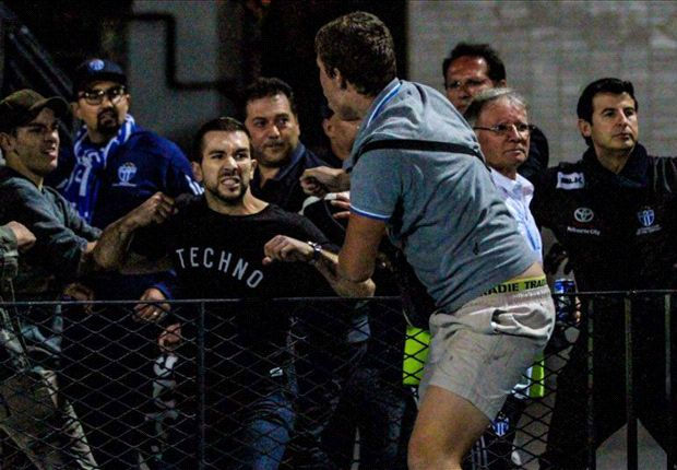 FFV investigating brawl at South Melbourne-Victory match
