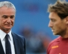 Ranieri plays down Totti rumours