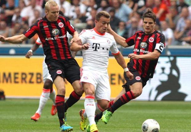 Gemakzuchtig Bayern langs Frankfurt