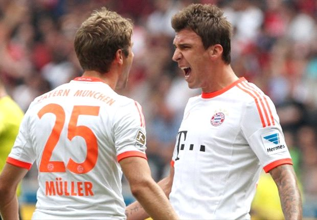 Eintracht Frankfurt 0-1 Bayern Munich: Mandzukic solo strike seals hard-fought win