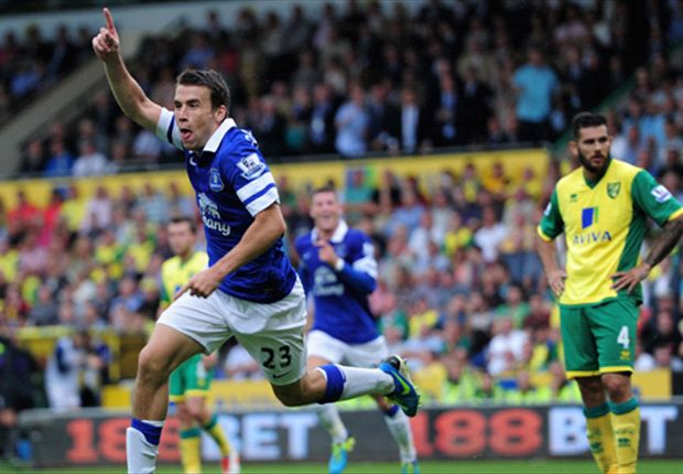 Seamus Coleman 'delighted' with opening game goal against Norwich City