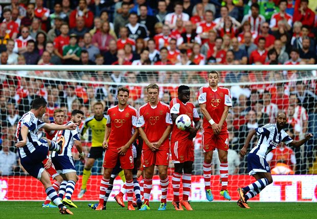 West Brom 0-1 Southampton: Late Lambert penalty caps stunning week for striker