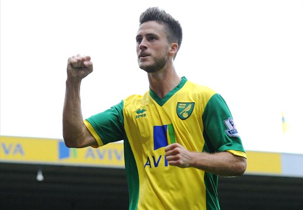 Norwich City 2-2 Everton: Van Wolfswinkel saves point for hosts after Toffees turnaround