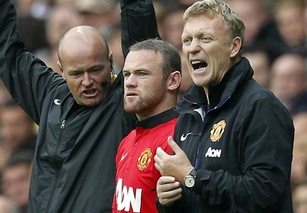 TEAM NEWS: Moyes hands Rooney start in Chelsea clash