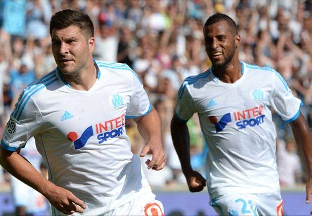 Marseille nestelt zich naast AS Monaco