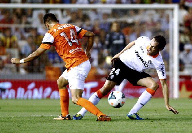 Valencia arrancó el torneo con una victoria sobre Málaga.