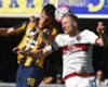 Verona 2-1 AC Milan: Last-gasp Siligardi free kick hands home side a lifeline