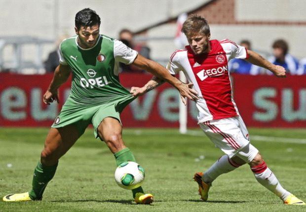 LIVE! + Opstellingen: Ajax - Feyenoord