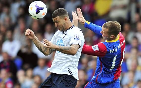 Crystal Palace v Tottenham Hotspur,Kyle Walker,Aaron Wilbraham