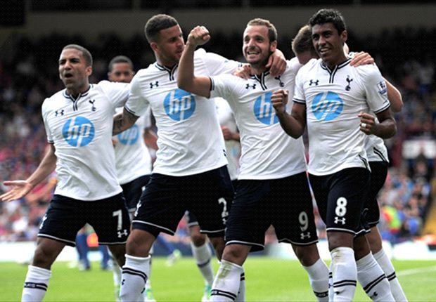 Crystal Palace 0-1 Tottenham: Soldado debut strike gets Spurs off & running