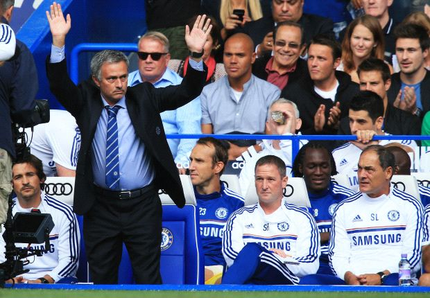 Mourinho has come home, says Lampard