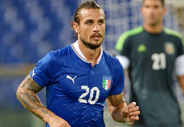 He fights, he scores: Roma star Osvaldo docks in Southampton