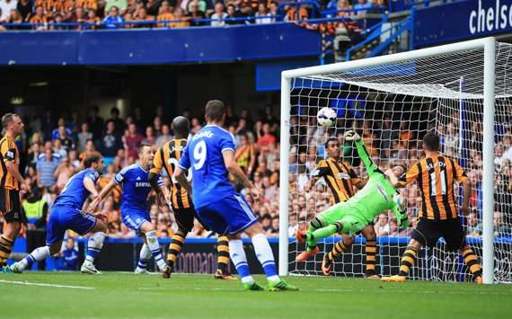 EPL : Allan McGregor -  Branislav Ivanovic - John Terry, Chelsea v Hull City