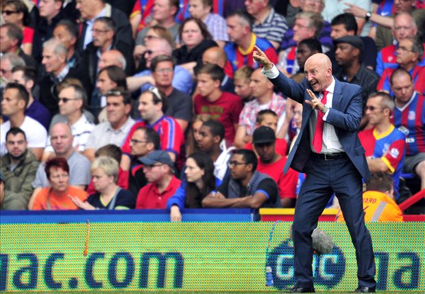 Holloway: Honeymoon period over for Crystal Palace