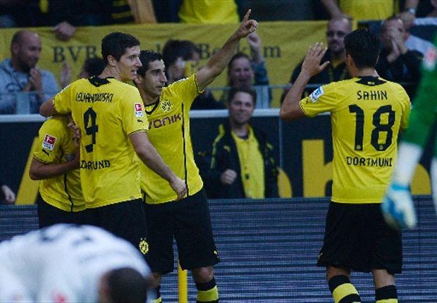 Borussia Dortmund ganó con lo justo