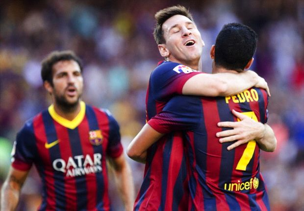 Messi goals on the horizon - Pedro