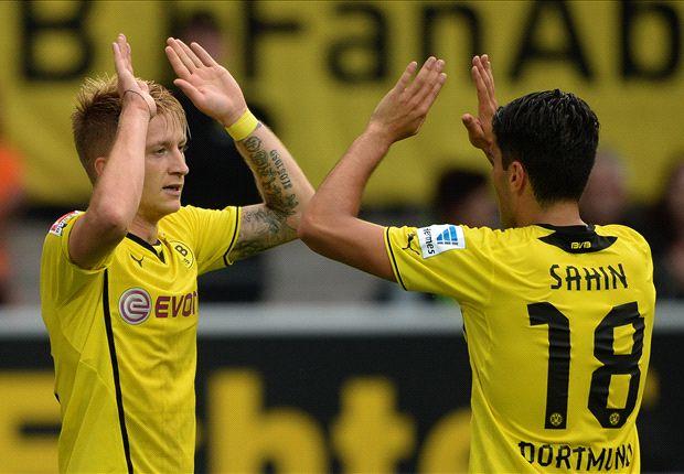 Bundesliga Round-up: Dortmund move top, Hertha held