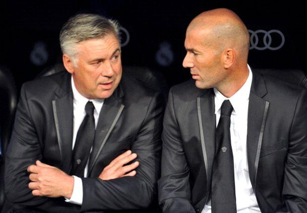 Ancelotti beri Zidane banyak pelajaran.