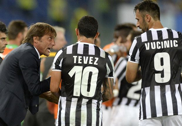 Tevez hails Vucinic partnership