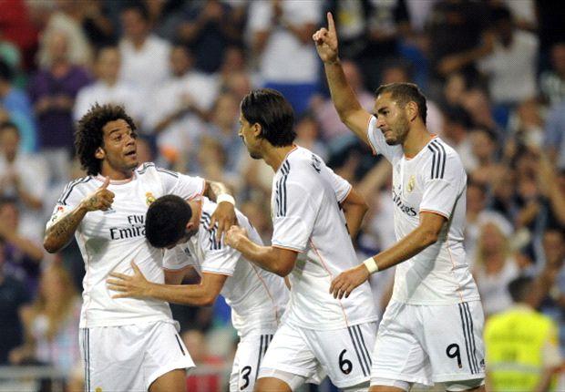 Real Madrid logró la victoria sobre el final