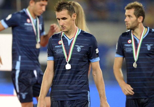 Gegen Udinese wird Miro Klose im Anti-Rassismus-Trikot auflaufen