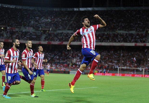 Atletico start season with Sevilla scalp