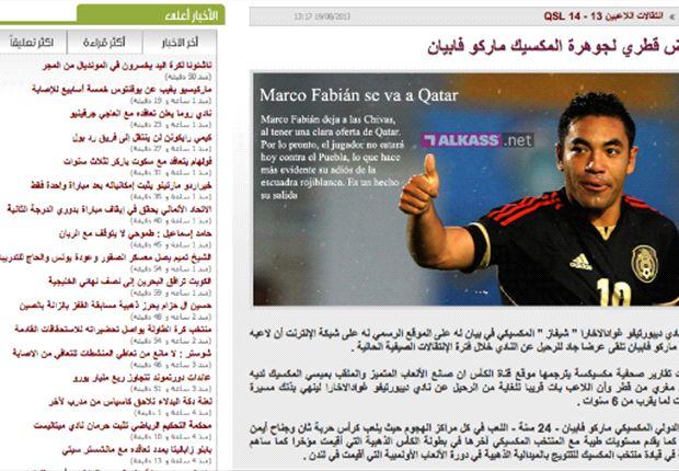 """En Qatar se ilusionan con """"el Messi mexicano"""""""
