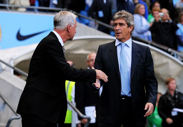 Pellegrini lauds Manchester City style in Newcastle rout