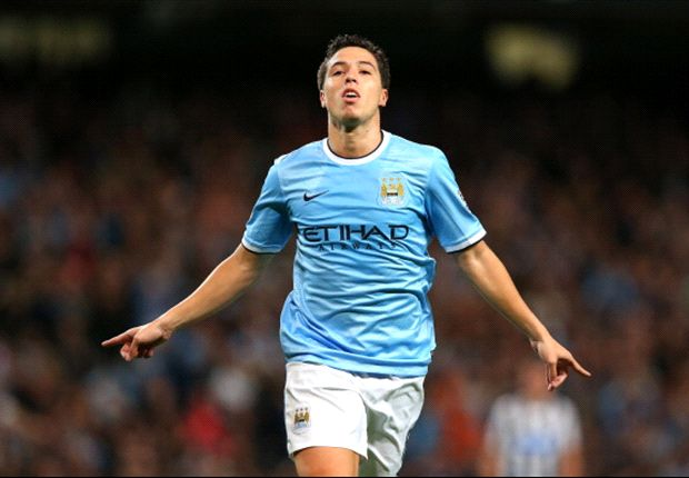 Nasri revels in Manchester derby revenge