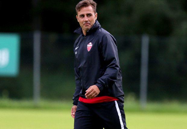 Cannavaro bangga disebut sebagai calon pengganti Prandelli.