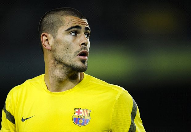 Valdes thrilled with Barcelona start