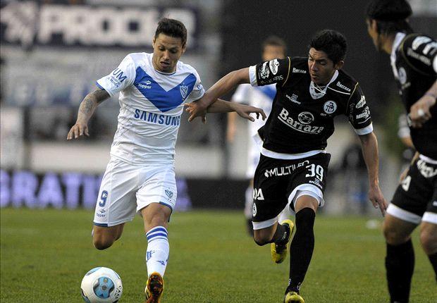 El regreso de Zárate no fue el soñado: Vélez no pasó del empate y el delantero se retiró lesionado.