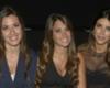 El brindis de Antonella de Messi, Daniela de Fábregas y Sofía de Suárez