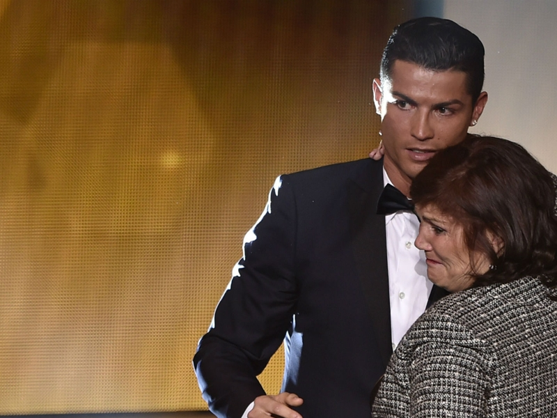 Ronaldo will be 80 per cent fit for next Man City game, according to his mother
