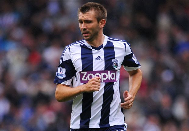 West Brom defender McAuley: we need to improve service to Anelka