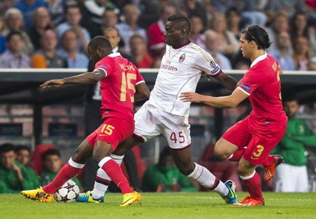 Sterk PSV laat Milan ontglippen