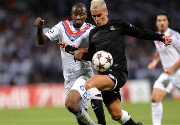 Lyon dipaksa bertekuk lutut oleh Real Sociedad
