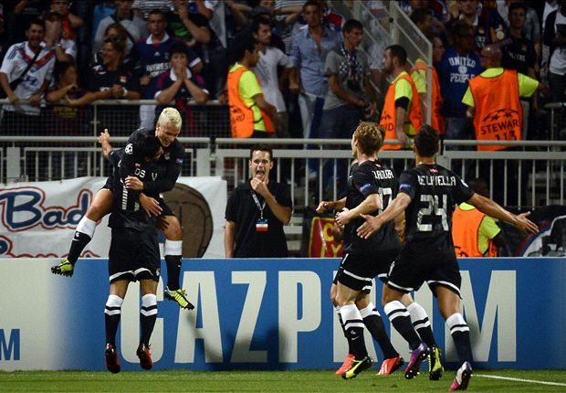 Lyon 0-2 Real Sociedad: Sublime Griezmann goal puts Spaniards in control of the tie