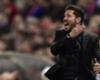 Atlético, une nouvelle suspension pour Simeone ?