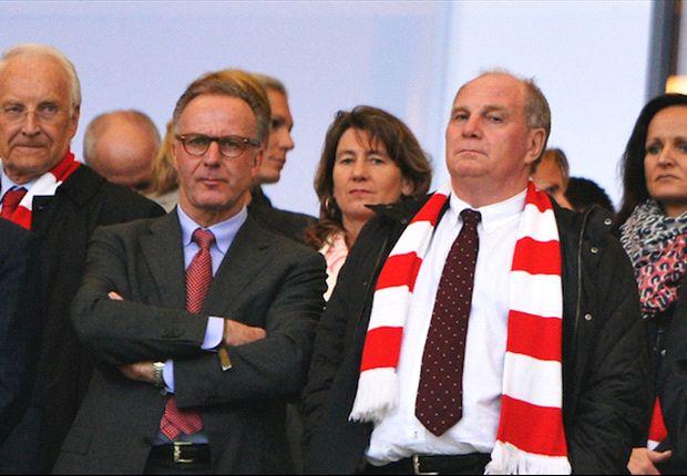 Hoeneß legte sein erstes Amt nieder