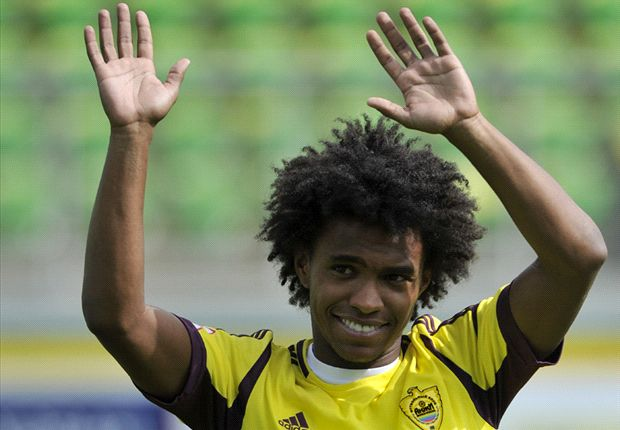 Chelsea confirm Willian agreement