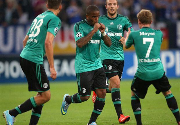 Schalke masih harus bersusah payah di leg kedua.