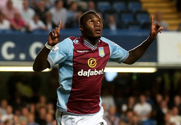 Aston Villa forward Benteke keen to learn from team-mate Kozak