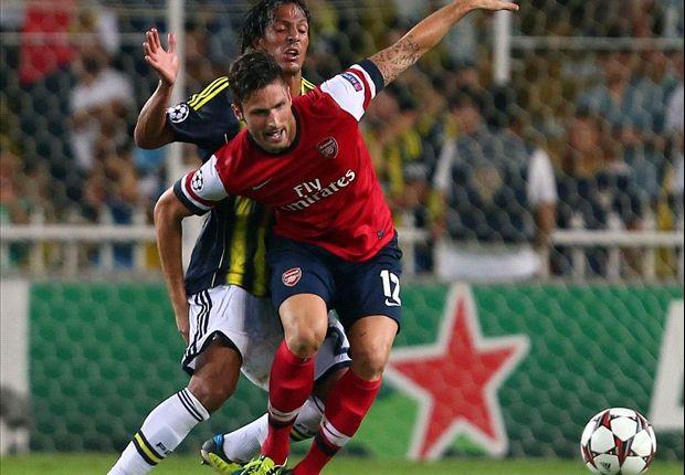 Will erneut treffen - Arsenals Olivier Giroud