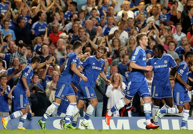 Chelsea 2-1 Aston Villa: Ivanovic seals Blues win